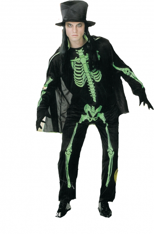 costume di carnevale SKELETON MAN