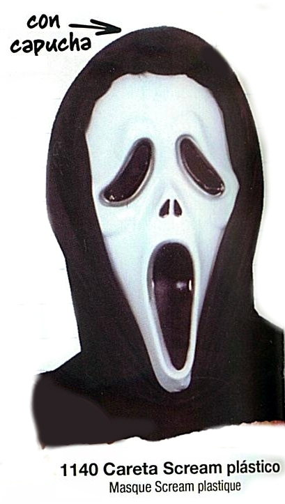 costume di carnevale SCREAM
